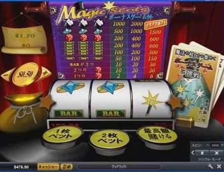 Magic Slotsのボーナスゲーム