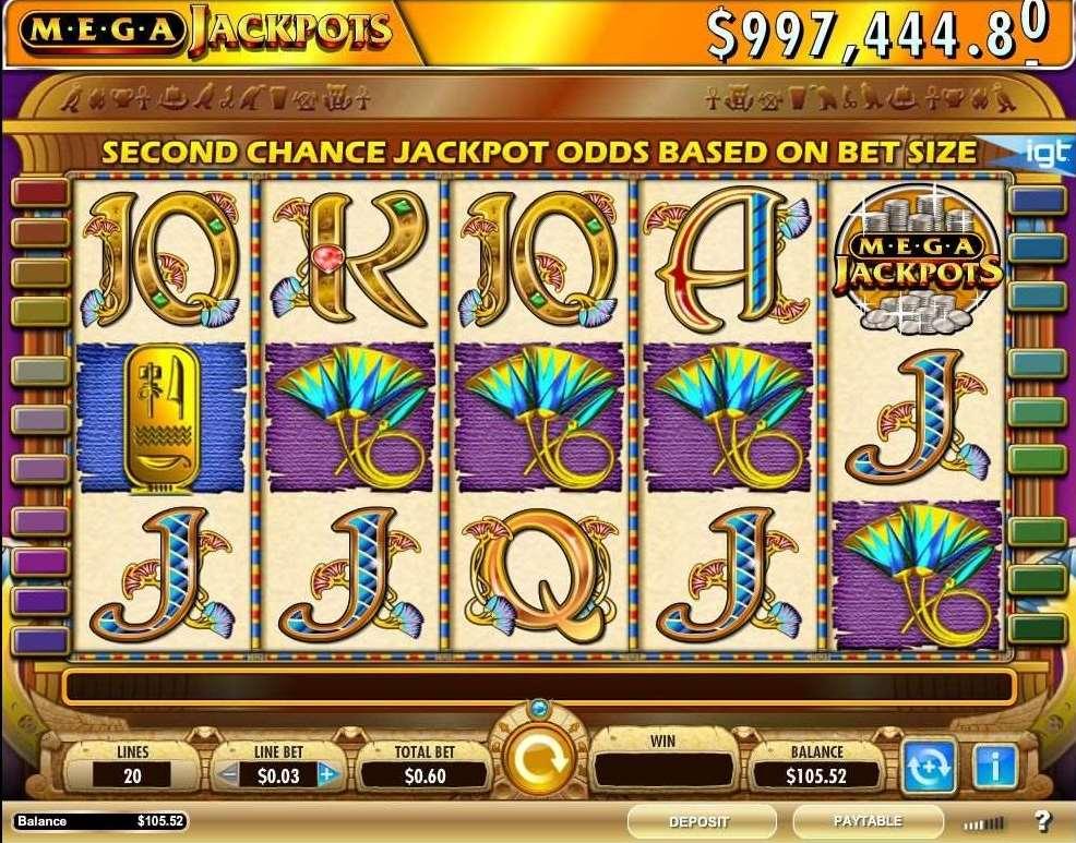 MegaJackpots Cleopatra | Spelautomater | Mr Green