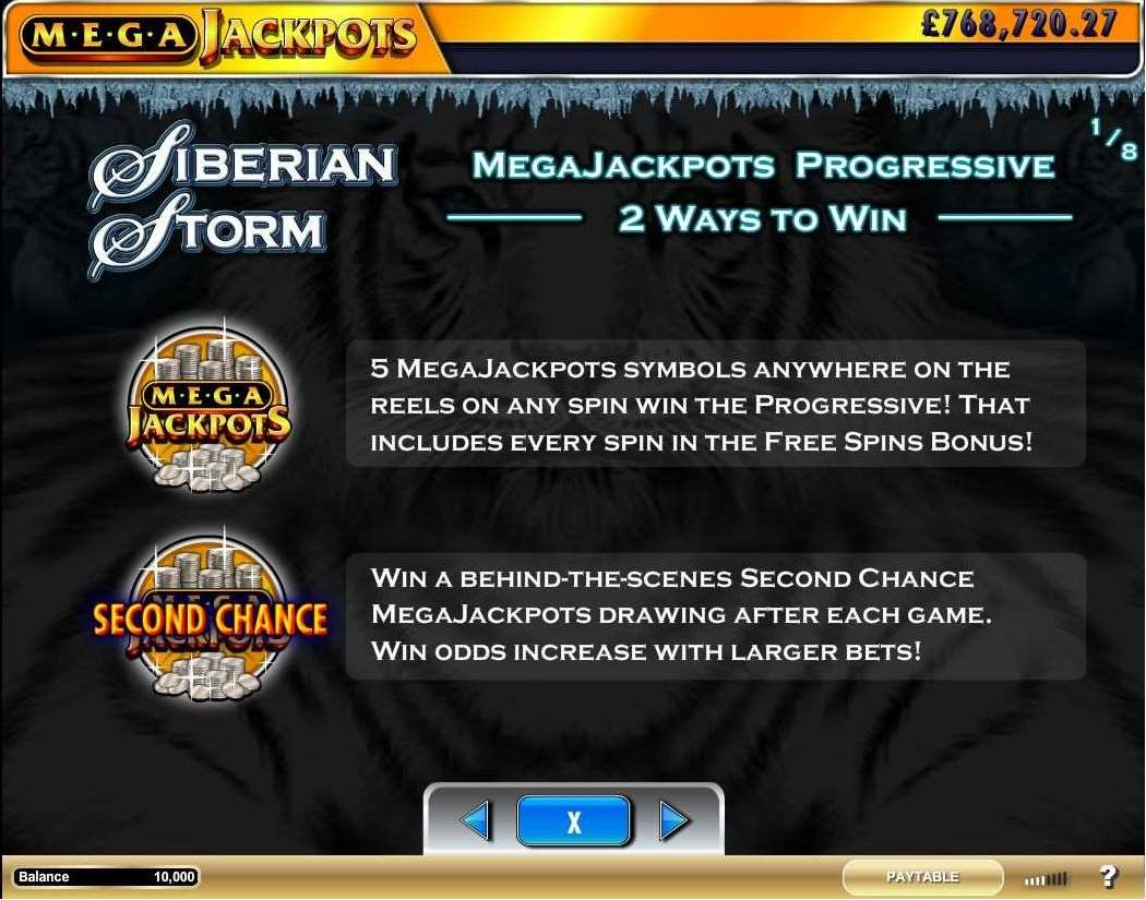 MegaJackpots Progressive