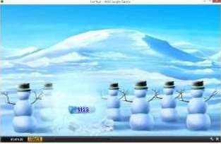 雪だるま1つ
