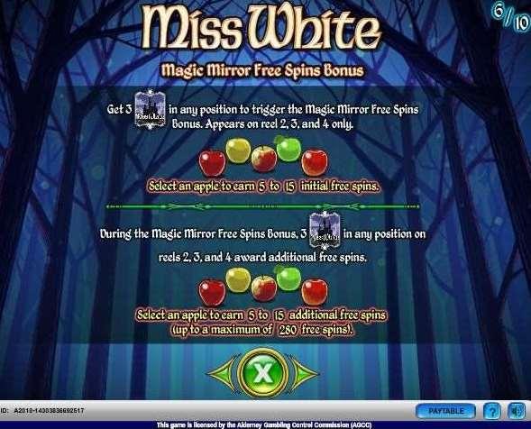 Magic Mirror Free Spins Bonus1