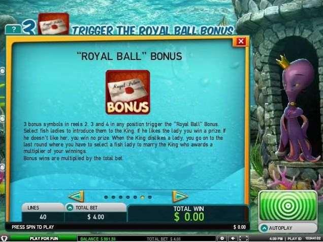 Royal Ball Bonus