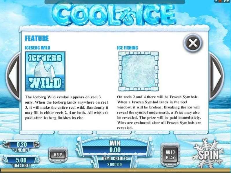Iceberg Wild機能1