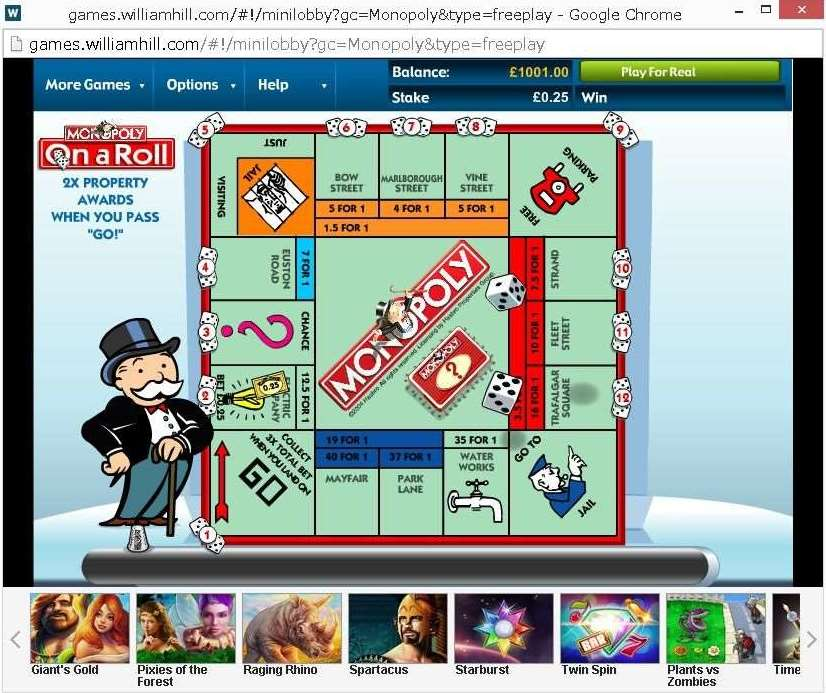 WHG Monopoly On a Roll2