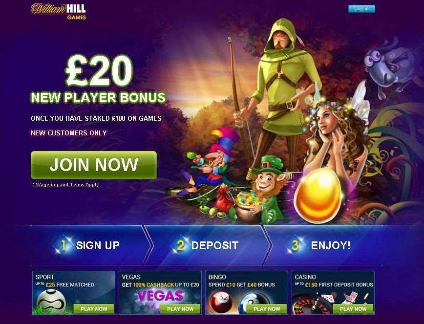 william hill online casino twist game login