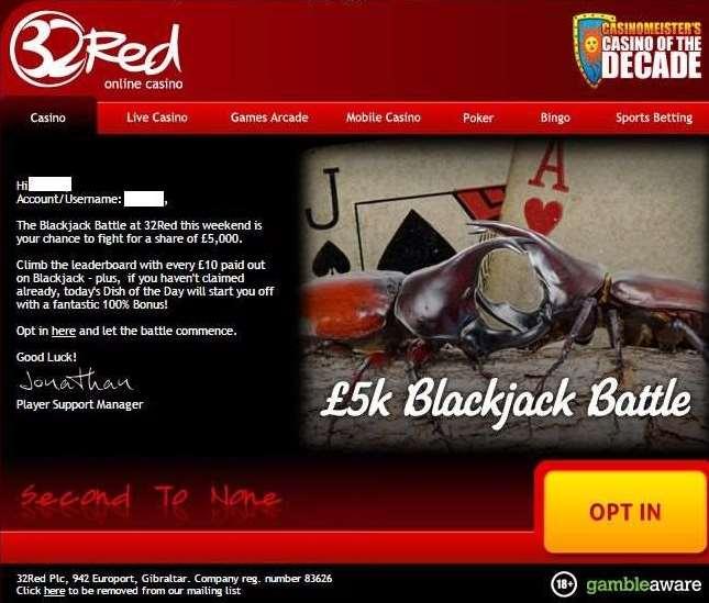 Black Jack promo