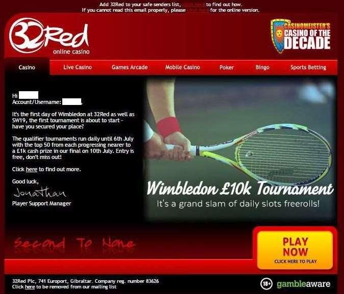 Wimbledonトーナメント