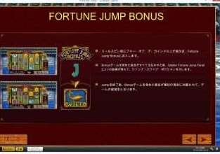 Fortune Jump Bonus扉機能