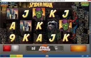 Spider-Man Attack of The Green Goblinスロット