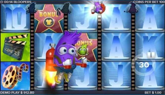 紫のキャラクター2