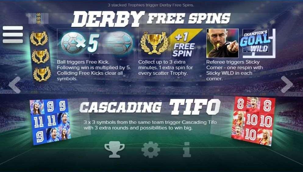 Derby Free Spin