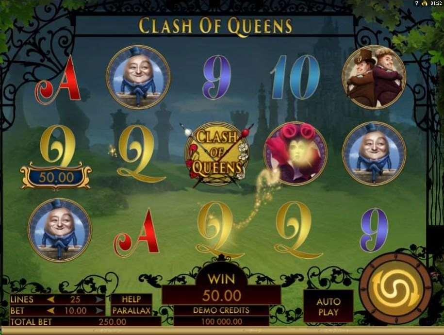 Clash of Queens