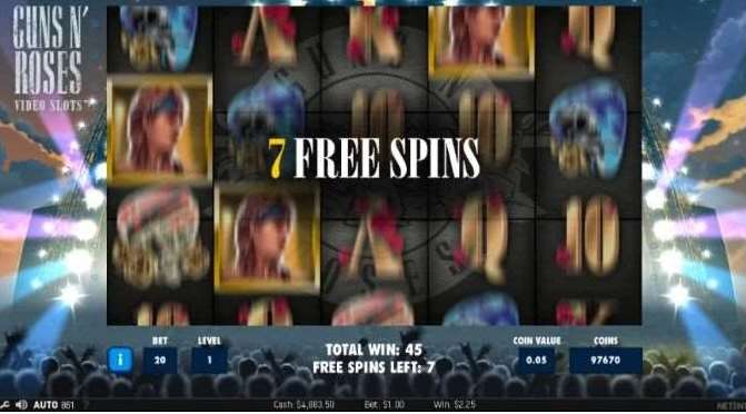 Encore Free Spin7