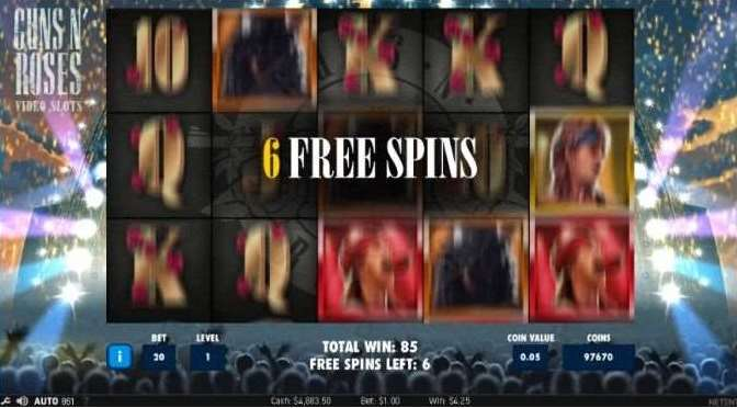 Encore Free Spin6