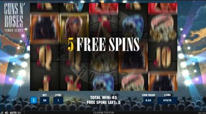 Encore Free Spin5