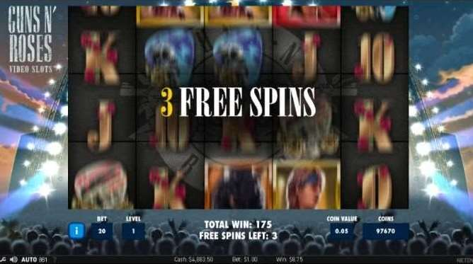 Encore Free Spin3