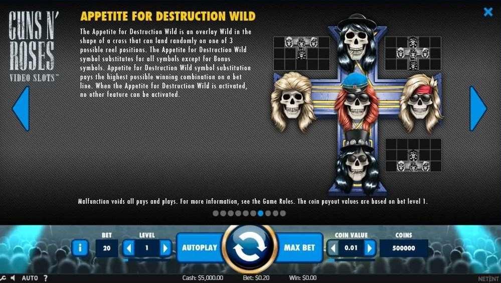 Appetite for Destruction Wild