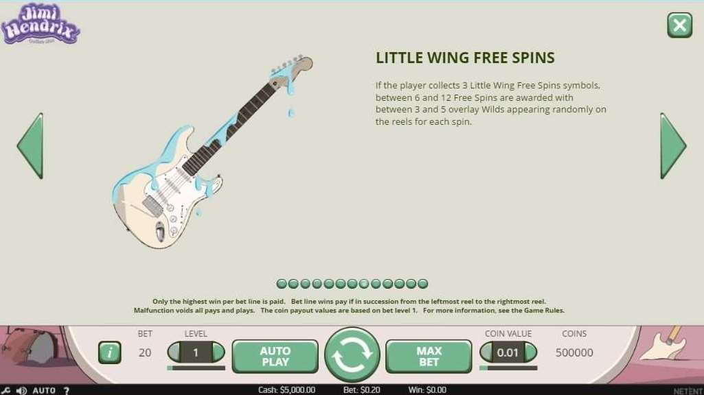 Little Wing Free Spin