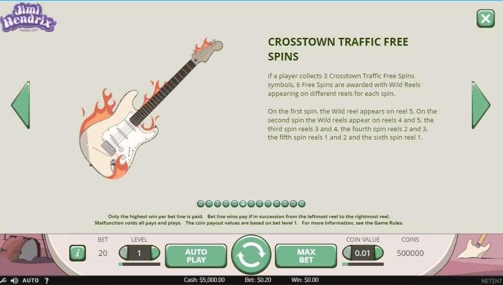 Crosstown Traffic Free Spin