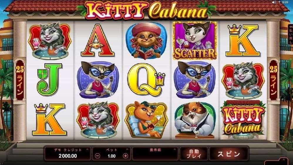 Kitty Cabana | Euro Palace Casino Blog