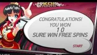 Suer Win Free Spins Start