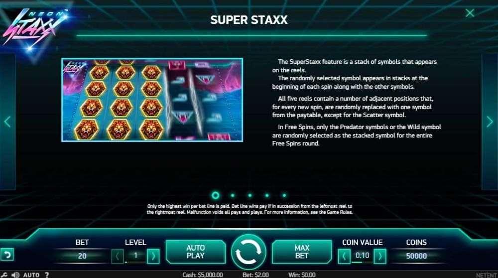 Super Staxx絵柄