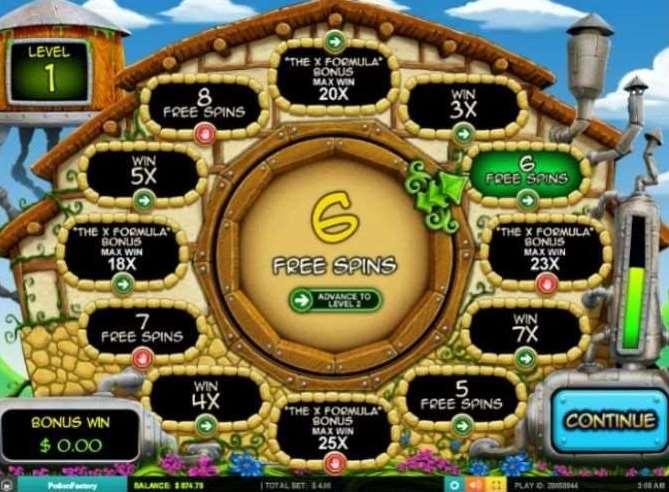 Mulitilevel Free Spins Bonus1