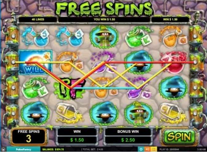 Mulitilevel Free Spins Bonus3