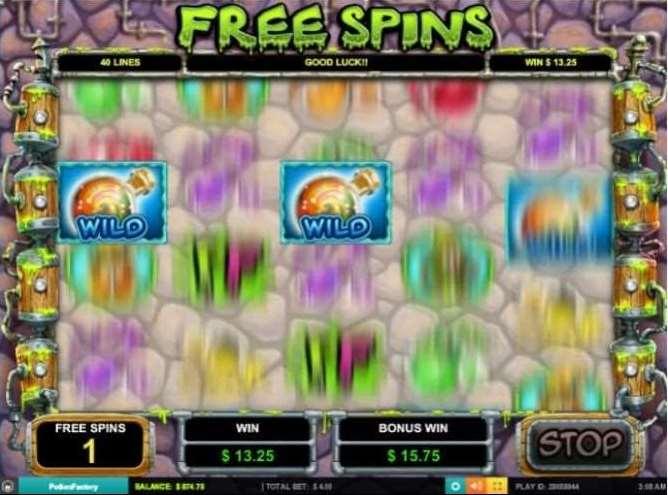 Mulitilevel Free Spins Bonus6
