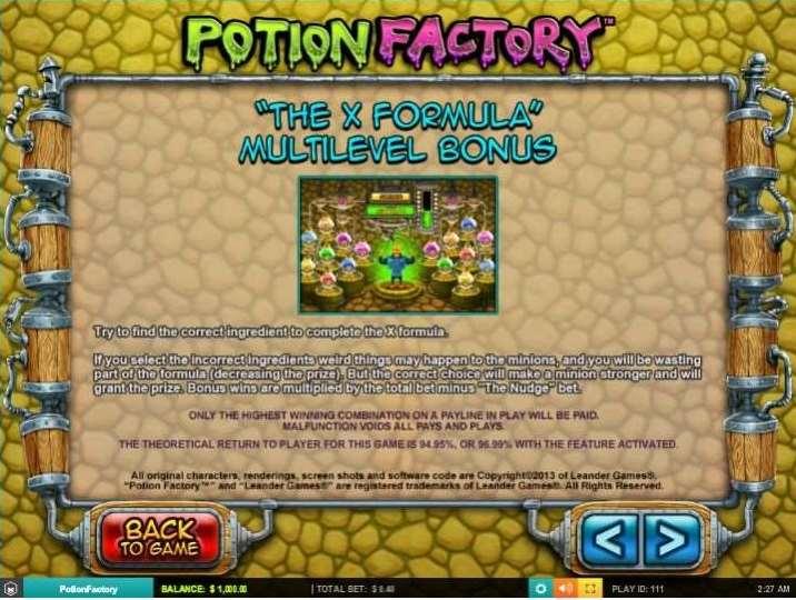 The X Formula Multilevel Bonus