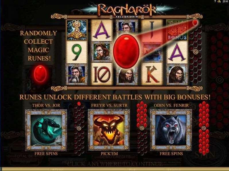 Randomly Collect magic Runes