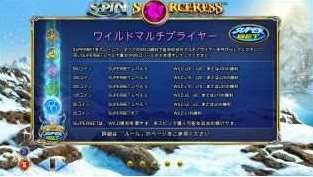 Spin Sorceressのスーパーベット機能