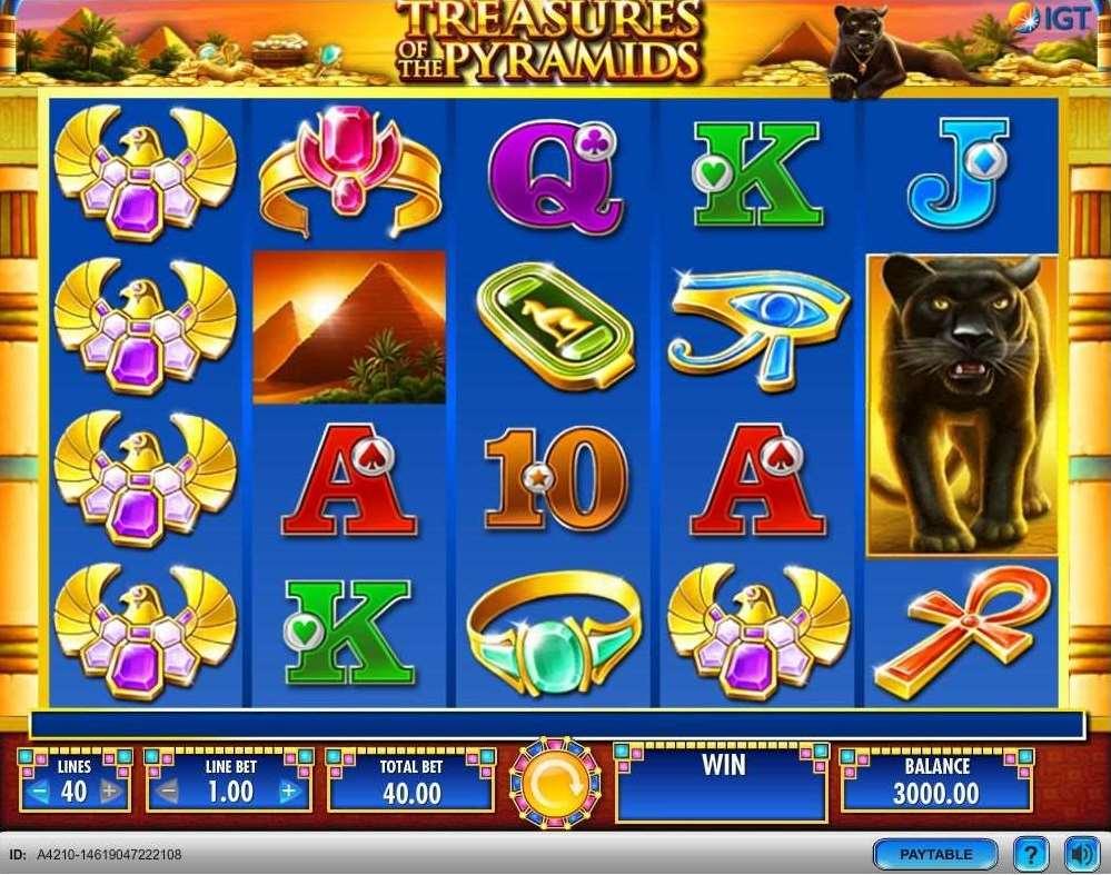 VJ Treasures of the Pyramids