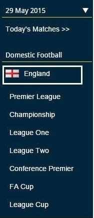 その国のリーグ名
