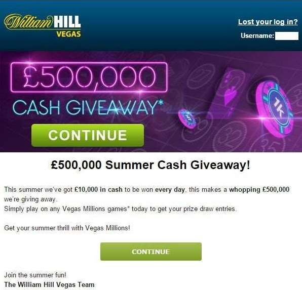 £500,000 CASH Giveaway