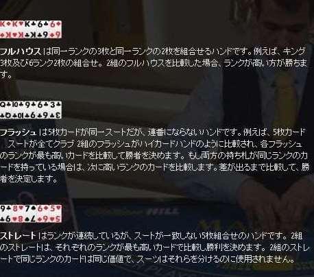 3カードポーカー6 Card Bonus勝敗2