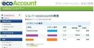 Ecoアカウント