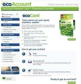 Ecoカードの発行申請