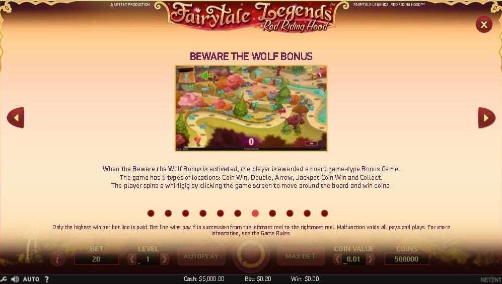 Beware the Wolf Bonus1