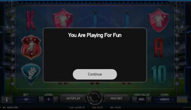 You are Playing For Fun