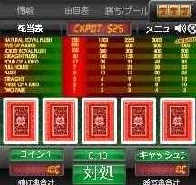 スピードスクイズバカラビデオポーカー2