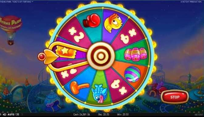 Theme Park Bonus Wheel3