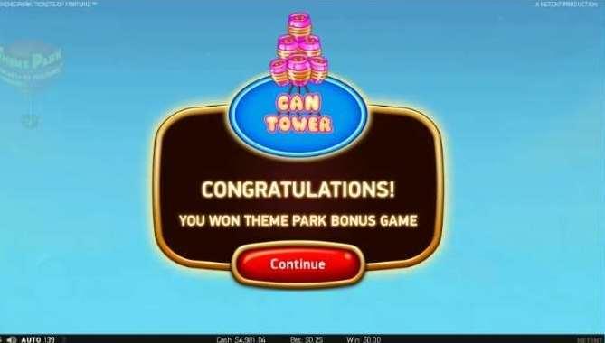 Theme Park Bonus Wheel5