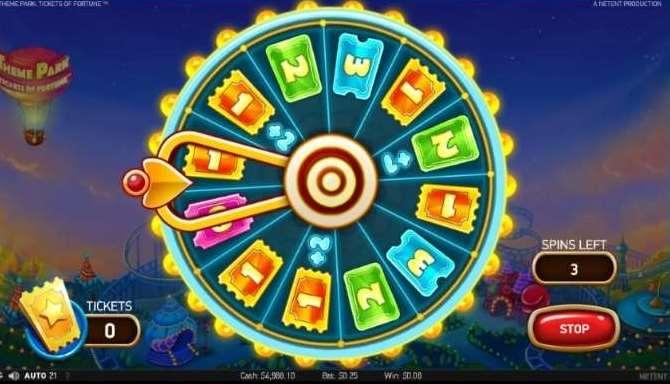 Theme Park Ticket Game3