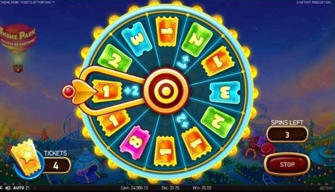 Theme Park Ticket Game5