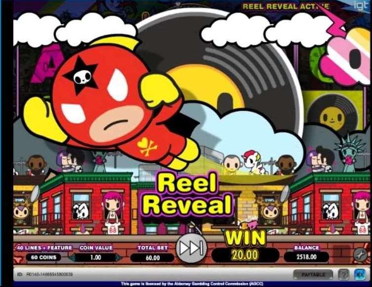 Revealed Reel #1 - Random Wild機能3