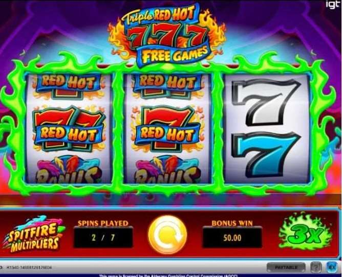 Spitfire Multipliers and the Free Games Bonus4