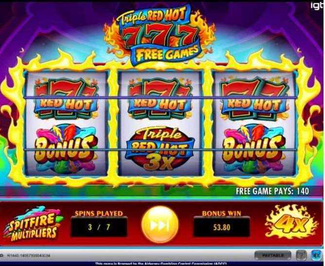 Spitfire Multipliers and the Free Games Bonus5