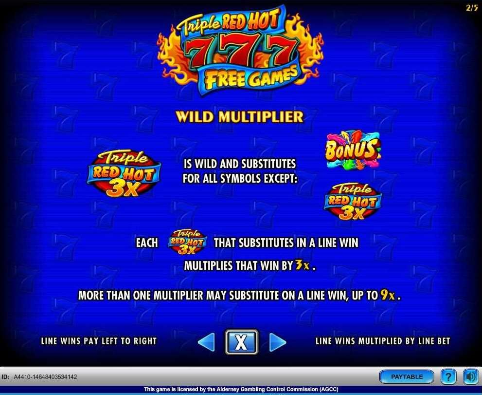 3x Wild Multipliers