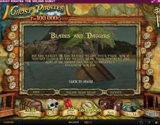 blades and daggersボーナスゲーム3